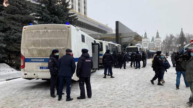 Moszkva, rendőrség