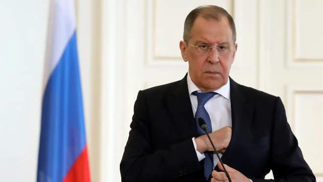 Szergej Lavrov, orosz külügyminiszter