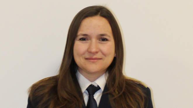 Szolgainé Soós Gabriella, a Veszprém Megyei Katasztrófavédelmi Igazgatóság ügyeletes szóvivője