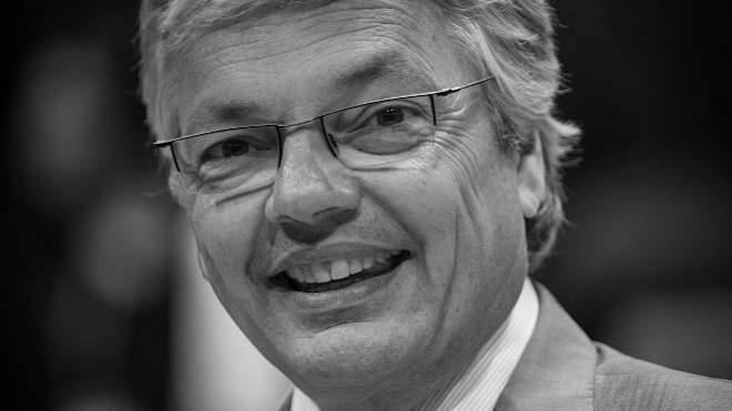 Didier Reynders, az Európai Bizottság igazságügyi biztosa Brüsszelben