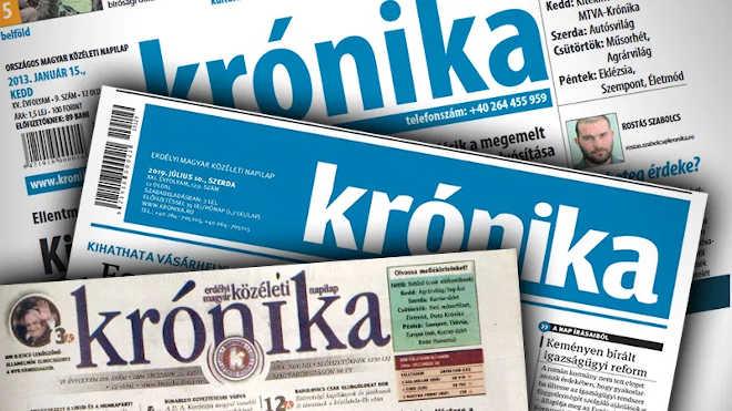 Krónika erdélyi magyar napilap