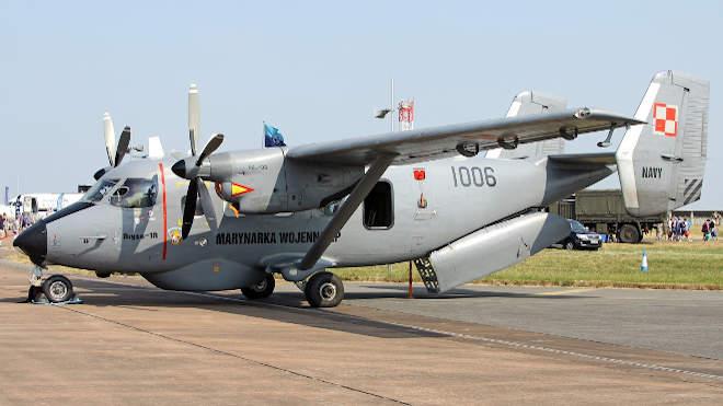 PZL-Mielec M-28B1 Rbi tengeralatjáró-elhárító
