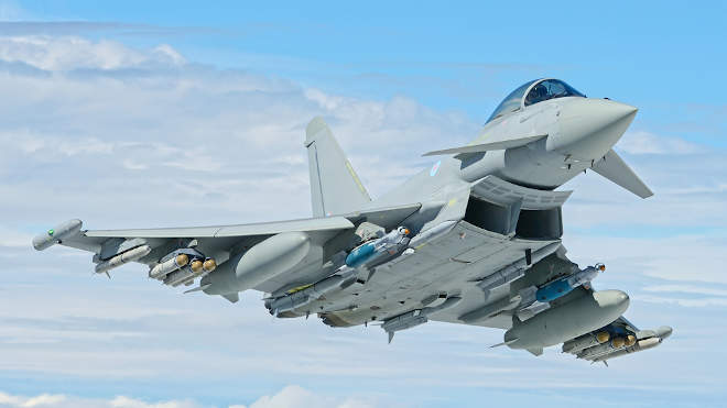 Royal Air Force (RAF) Eurofighter Typhoon