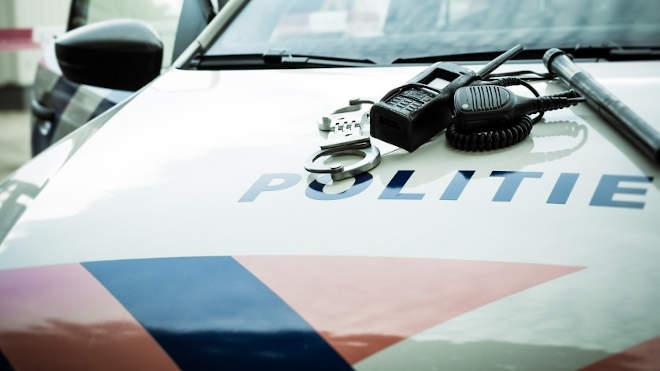 Holland rendőrkocsi