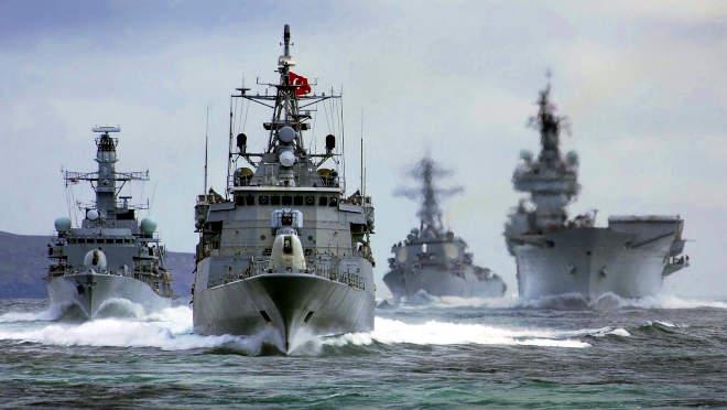 török hadihajók