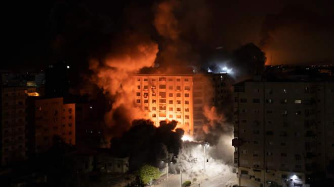 Izrael, rakétatámadás