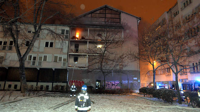 Ráday utcai kollégium tűz