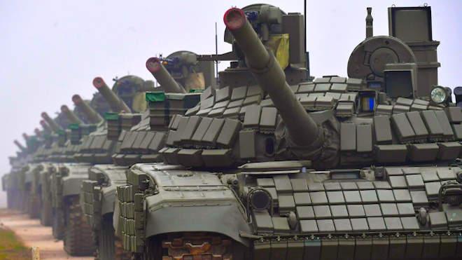 T-72MS tank