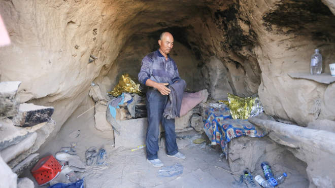 Csu Ko-ming kínai barlang
