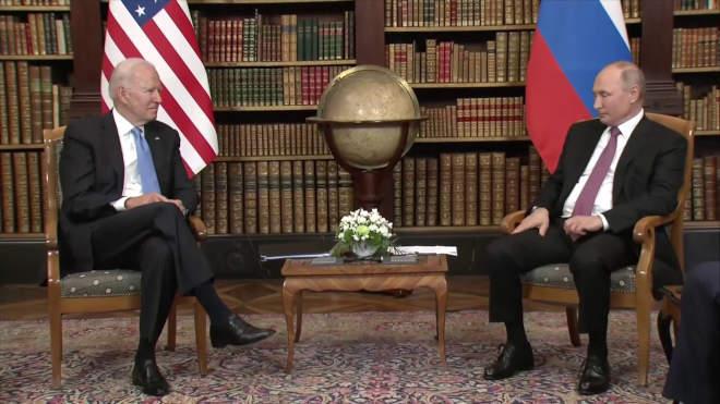 Biden és Putyin