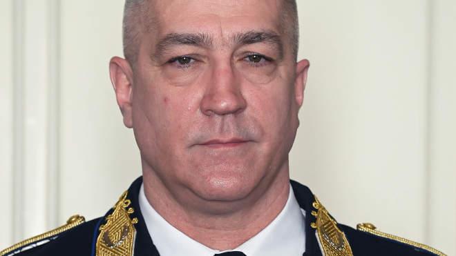 Hajdu János altábornagy, a Terrorelhárítási Központ (TEK) főigazgatója