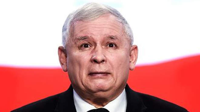 Jaroslaw Kaczynski lengyel kormányfőhelyettes, a kormánypárt elnöke