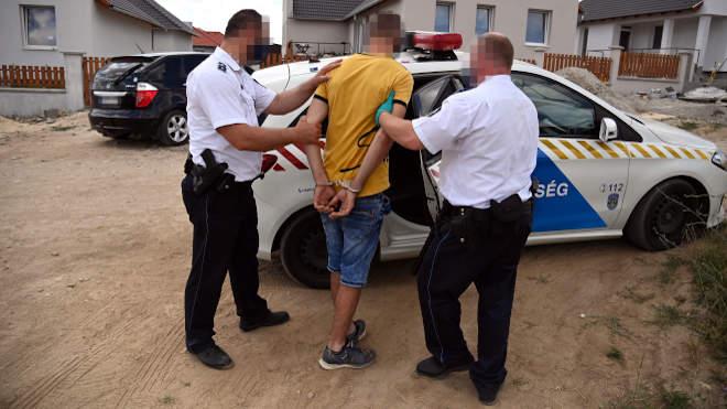 Sz. Sándor Gergő letartóztatása