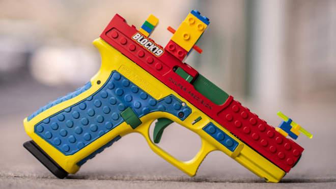 Culper Precision Glock 19 LEGO version