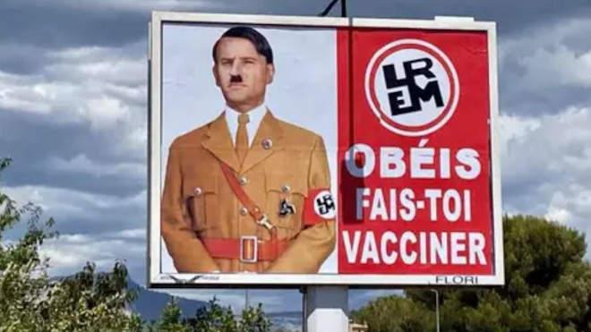 Macron - Hitler