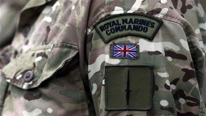 Brit katona