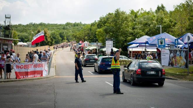 Hungaroring rendőr