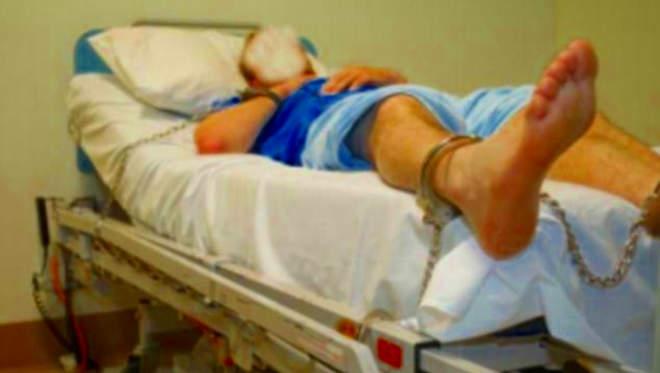 kórház bilincs