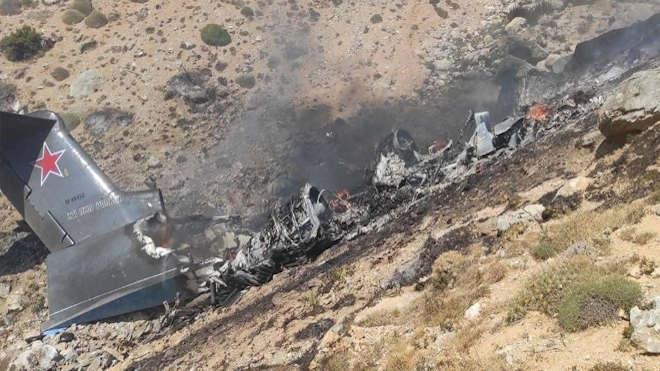 A lezuhant Be-200-as orosz repülőgép