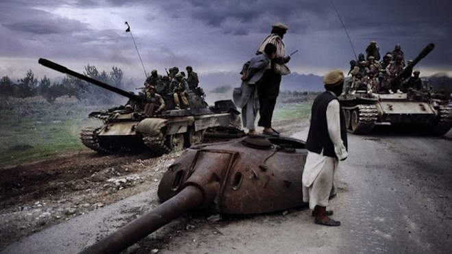 orosz tankroncs Afganisztán