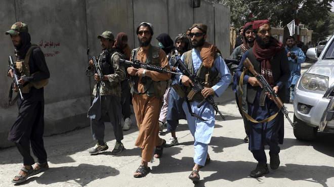 tálib fegyveresek