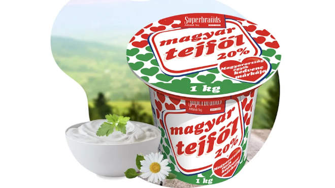 Alföldi Tej Kft. tejföl