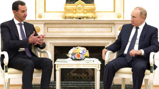 Asszad Putyin