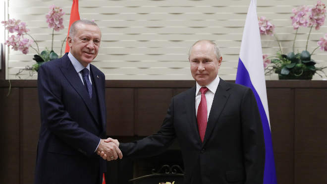 Putyin és Erdogan
