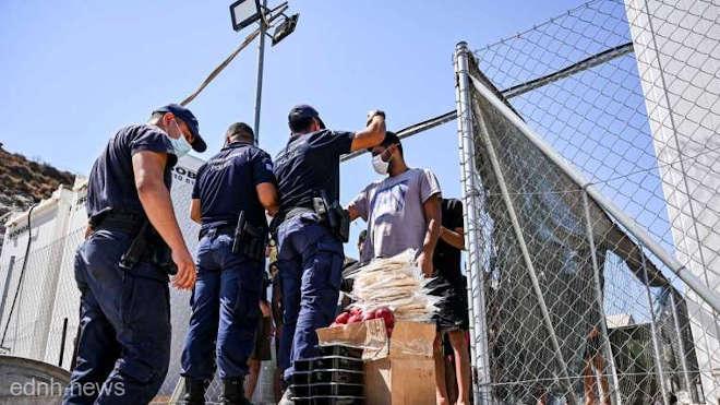 görög menekülttábor