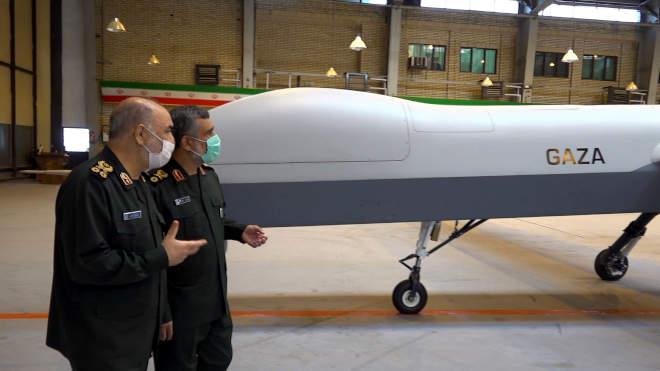 iráni drón