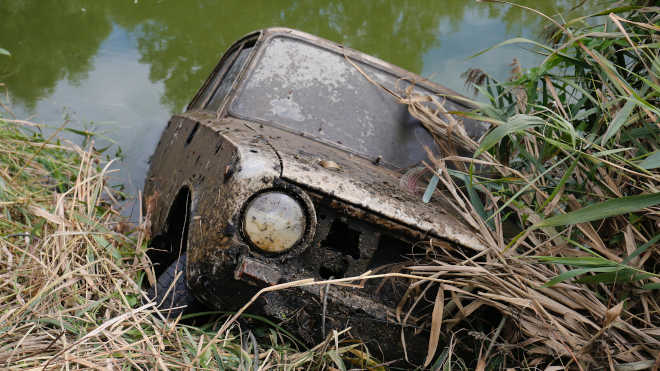 Zala folyó lopott autó