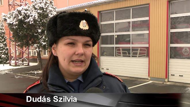 Dudás Szilvia, a Szabolcs-Szatmár-Bereg megyei katasztrófavédelmi igazgatóság helyettes szóvivője