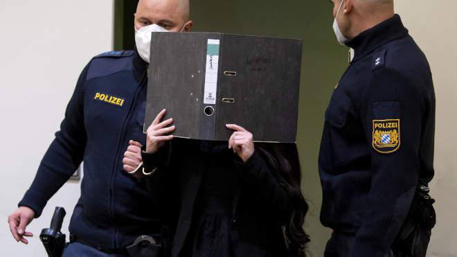 német rendőr bíróság
