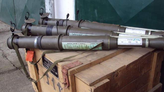 páncéltörő fegyverek
